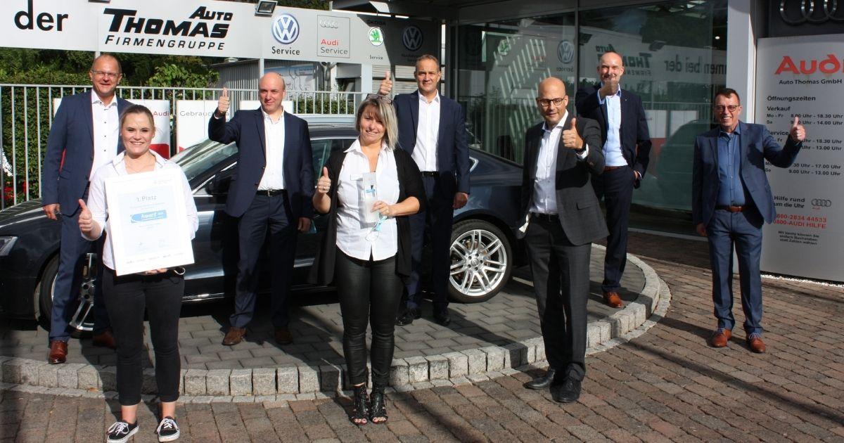 Platz 1 - Hersteller: Audi