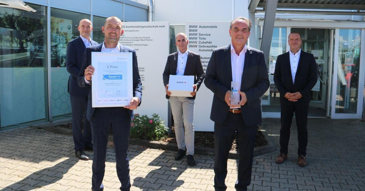 Platz 3 - Hersteller: BMW
