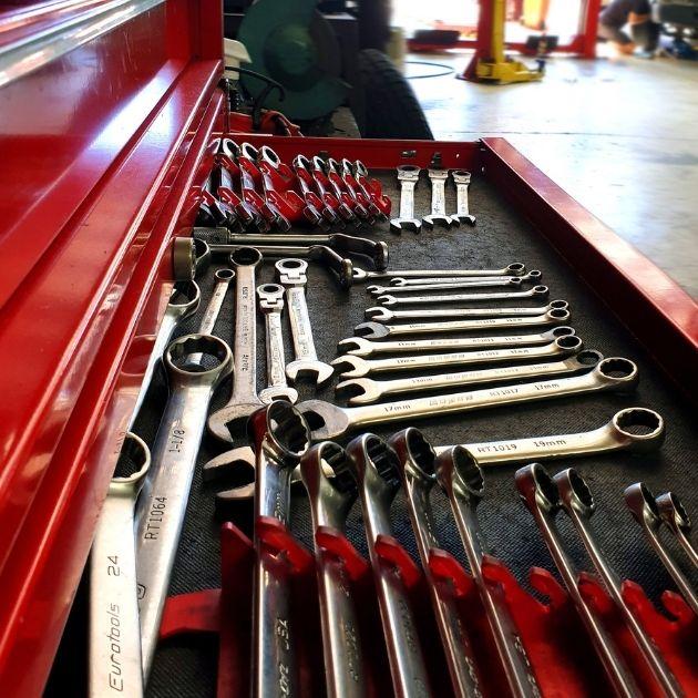 Oldtimer-Werkzeug