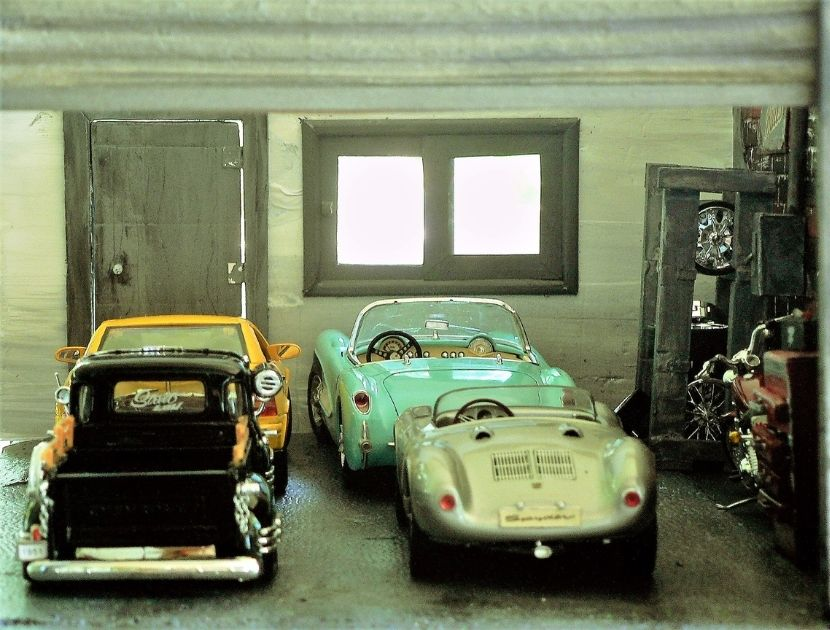 Garage fuer Oldtimer
