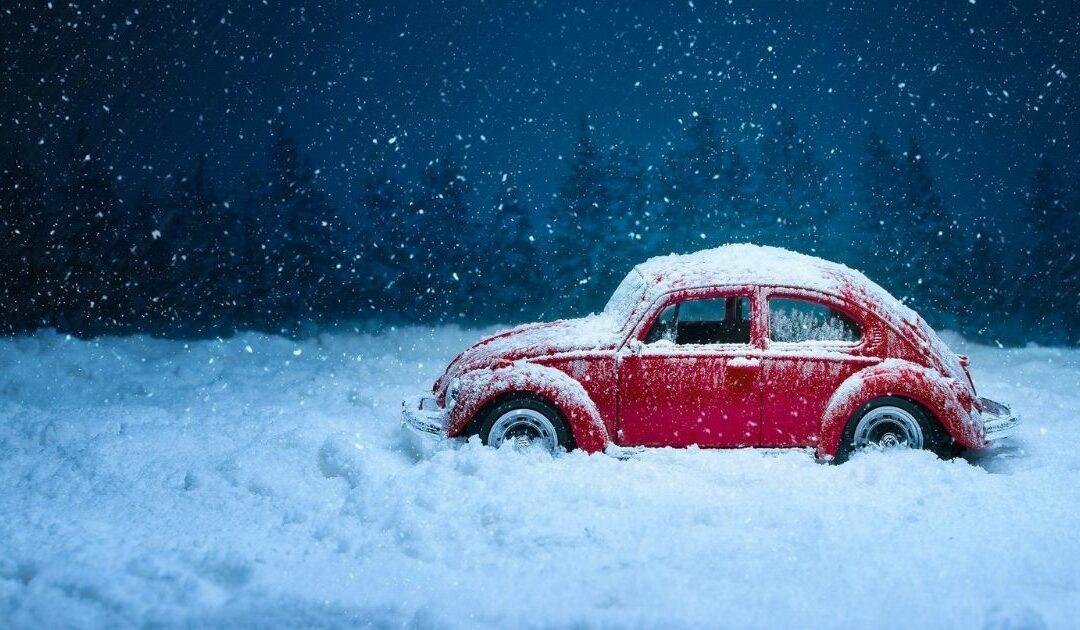 Oldtimer im Winter
